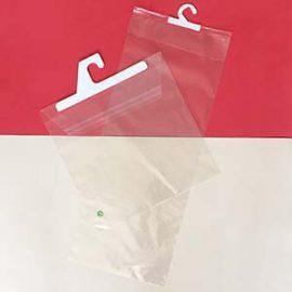 bolsas de polipropileno con percha soldada